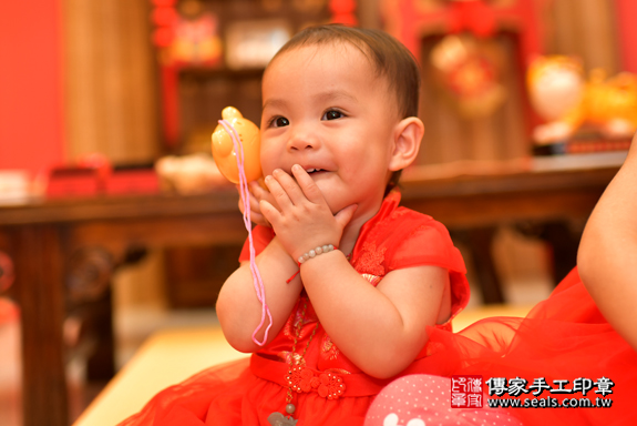 鳳山區梁寶寶古禮抓周:周歲抓周活動和儀式,一切圓滿。照片42