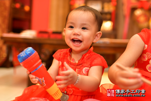 鳳山區梁寶寶古禮抓周:周歲抓周活動和儀式,一切圓滿。照片44
