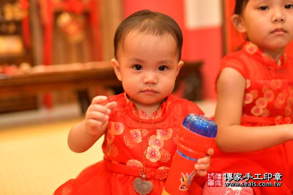 鳳山區梁寶寶古禮抓周:周歲抓周活動和儀式,一切圓滿。照片45