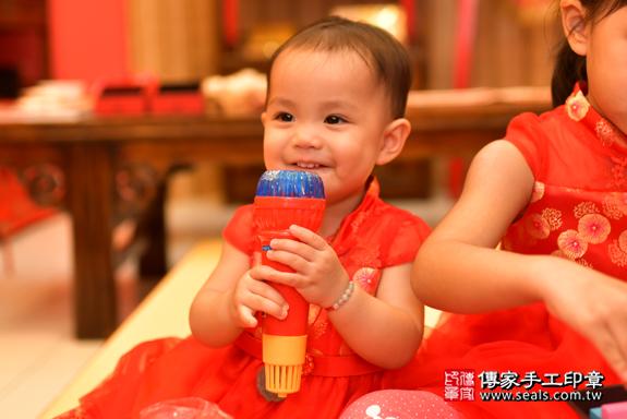 鳳山區梁寶寶古禮抓周:周歲抓周活動和儀式,一切圓滿。照片46