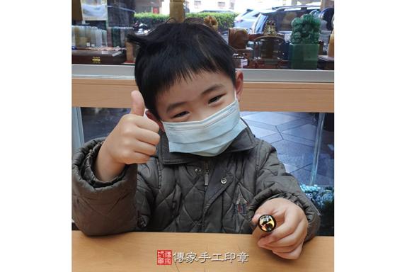 顧客滿意推薦寶寶臍帶胎毛印章-台中市北區-李小姐2020.02.25照片^^