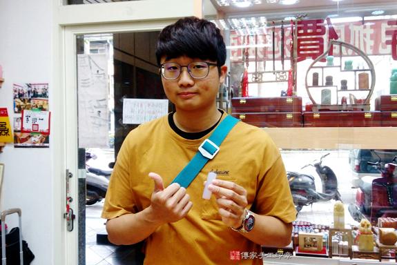 顧客滿意推薦個人開運印章-台中市北區-林先生2020年2月29日照片1