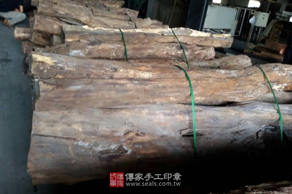 ★ 黑檀木的原木照片1