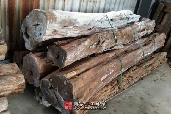 ★ 黑檀木的原木照片3