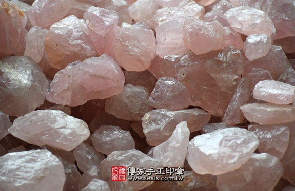 ★ 粉晶的原礦照片16