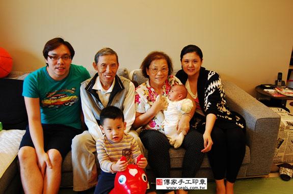 蔡寶寶-製作胎毛筆、臍帶章、嬰兒三寶滿月到府理髮活動紀錄 2014.11.09 照片15